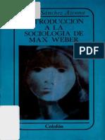 Azcona. Weber, Metodología