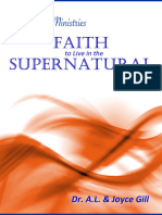 Faith to Live in the Supernatural