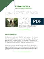 Museo Sorolla - Texto