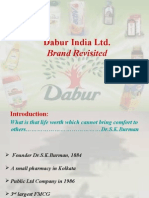 Dabur India Ltd Brand Management Presentation Anuranjan