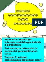 Teori perkembangan Psikososial Erik Erikson