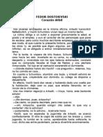 (Relato Corto) Corazon Debil