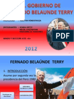 2do Gobierno de Fernando Belaunde Terry