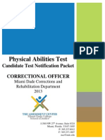CO Candidate Notification Packet - MDCR 2013