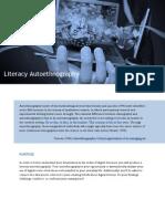 Literacy Autoethnography