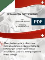 Perawatan Post Partum Ppt
