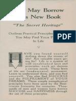"""AMORC - Rosicrucian Ad """"The Secret Heritage"""" (1941).pdf"""