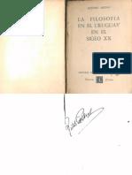 Arturo Ardao 1956 Filosofia Del Uruguay Siglo Xx