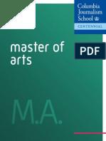 MA Program at Columbia Journalism School