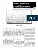 Joseph of Arimathea and David's Throne in Britain!
