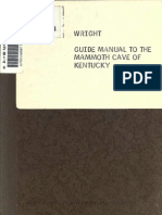 A Guide Manual to the Mammoth Cave of Kentucky (1870, c1860)