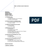 Format Laporan Kajian Tindakan II