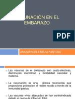 VACUNACIÓN EN EL EMBARAZO