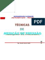 Técnicas Medição de Pressão