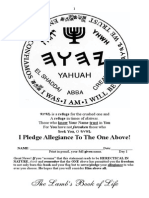 The Besorah of Yeshua -YHWH