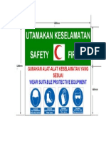 Safety Board Layout