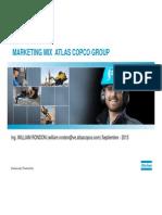 Marketing Mix Atlas Copco Group (William Rondon)