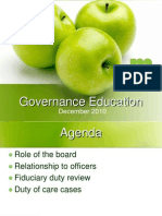 BOD Governance Training