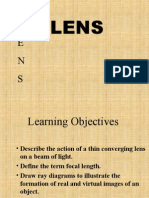 Thin Converging Lenses