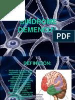 Sindrome de Demencia