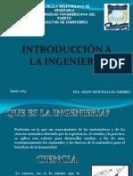 Diapositivas de Introduccion a La Ingenieria