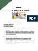 Etimologias Latinas Bloque 1