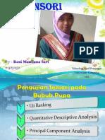 Quantitative Descriptive Analysis