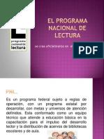 El Programa Nacional de Lectura.para EXPONERpptx
