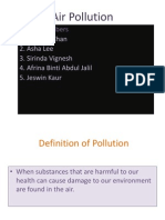 Science Project Pollution