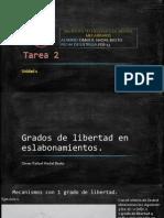 Grados de libertad y criterio de Grübler.