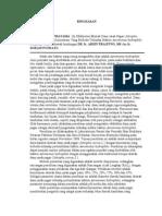 Uji Efektivitas Ekstrak Daun Jarak Pagar Dengan Konsentrasi Yang Berbeda Terhadap Bakteri Aeromonas Hydrophila Secara Invitro (Abstrak)