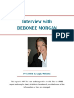 Interview With Debonee Morgan