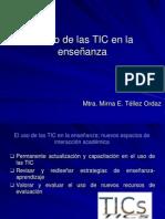 El uso de las TIC en la enseñanza