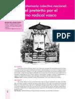 Del Molino, R. Nacionalismo Vasco