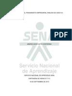 Catedra Virtual Del Pensamiento Empresarial Actividad Semana 3 Analisis de Caso