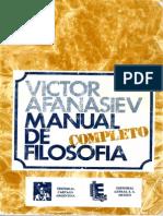 Manual de Filosofia Afanasiev Completo