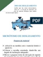 Alikaene MICRÓTOMO DE DESLIZAMENTO