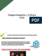 Comportamiento y Cultura