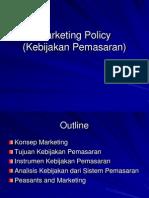 11. Marketing Policy