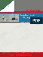 Plasson Mechanical Fittings Valves 2011