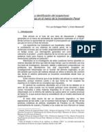 LA IDENTIFICACION DEL SOSPECHOSO POR UN TESTIGO EN EL MARCO DE LA INVESTIGACION PENAL.pdf