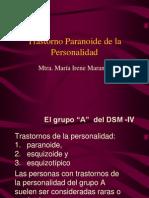 c Peculiaridades Del Paciente Paranoico Aimee