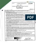 09 PSA Question Paper 2013