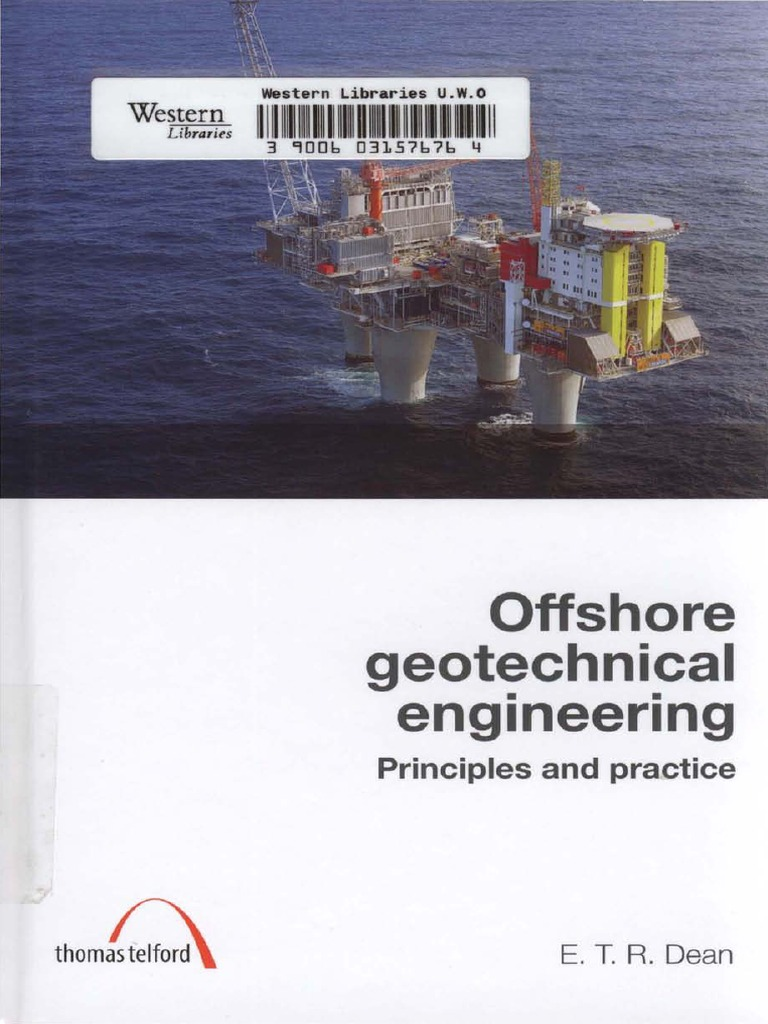 offshore geotechnical engineering by mark randolph geotechnical engineering deep foundation - Marine Geotechnical Engineer Sample Resume