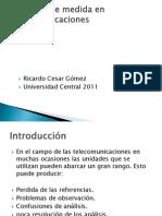 Unidades de Medida en Telecomunicaciones