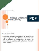 MODELO MATEMÁTICO DE PANAGIOTOU (1)