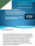 Portafolio de presentación Coursera LMGG