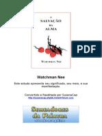 A Salvação da Alma - Watchman Nee