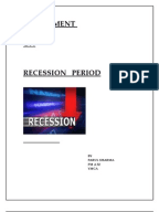 essay on recessionassignment
