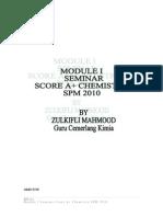 Module i Seminar Skor a Chemistry Spm 2010